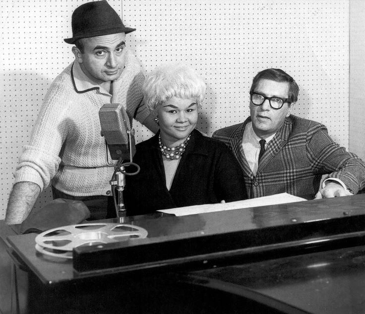 Leonard Chess, Etta James, Phil Chess