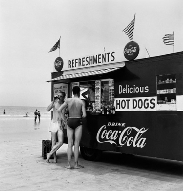 refreshments and delicious hot dogs