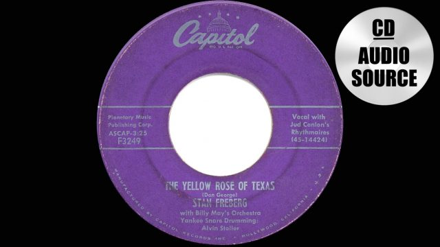 Stan Freberg: The Yellow Rose Of Texas
