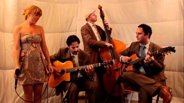 Jonny Hepbir Quartet: Fly Me To The Moon