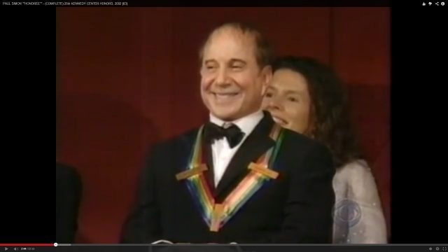 Kennedy Center Honors: Paul Simon