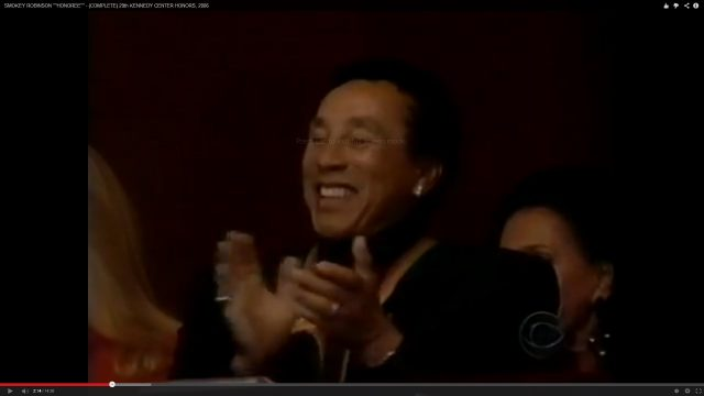 Kennedy Center Honors: Smokey Robinson