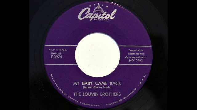Louvin Brothers: My Baby Came Back