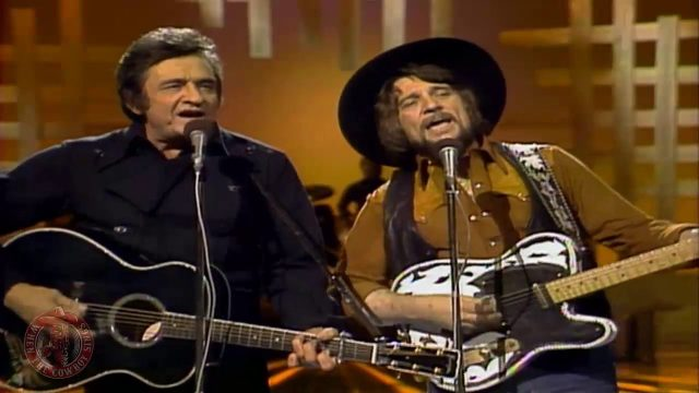 Waylon Jennings And Johnny Cash: There Ain't No Good Chain Gang