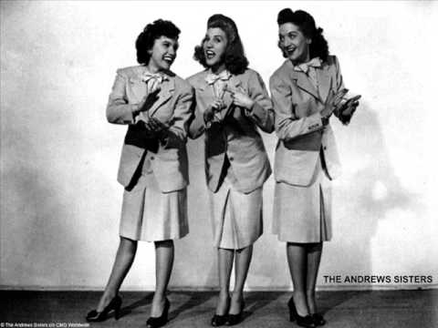 Andrews Sisters: Too Fat Polka